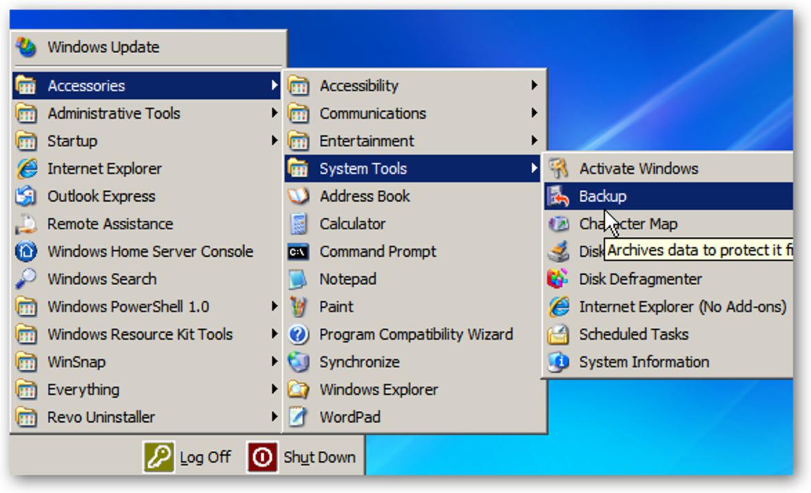 So sichern Sie Ihren Windows Home Server-Systemstatus