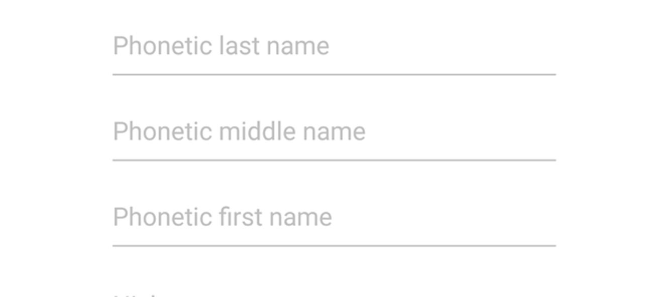 So fügen Sie Kontakten in Android phonetische Namen hinzu (damit Google Assistant Sie verstehen kann)
