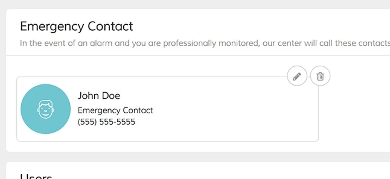So fügen Sie Ihrem Abode Home Security System Notfallkontakte hinzu