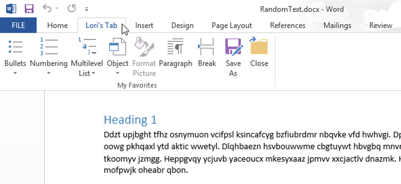 So erstellen Sie eine benutzerdefinierte Registerkarte in der Microsoft Office-Multifunktionsleiste
