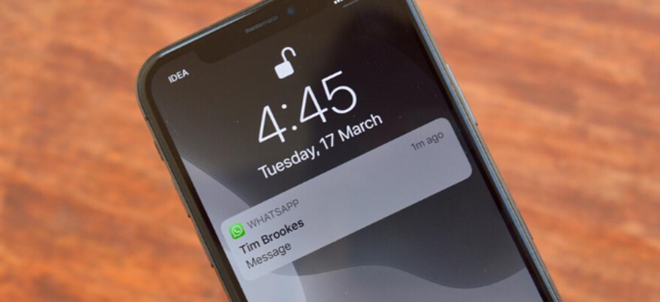 So deaktivieren Sie die Benachrichtigungsvorschau für WhatsApp auf dem iPhone