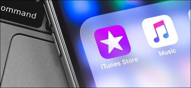 iTunes Logo auf dem iPhone