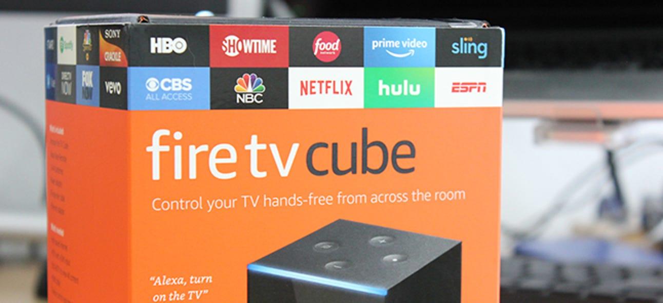 Verwenden Sie den Fire TV Cube, um Ihr Home Media Center sprachgesteuert zu steuern