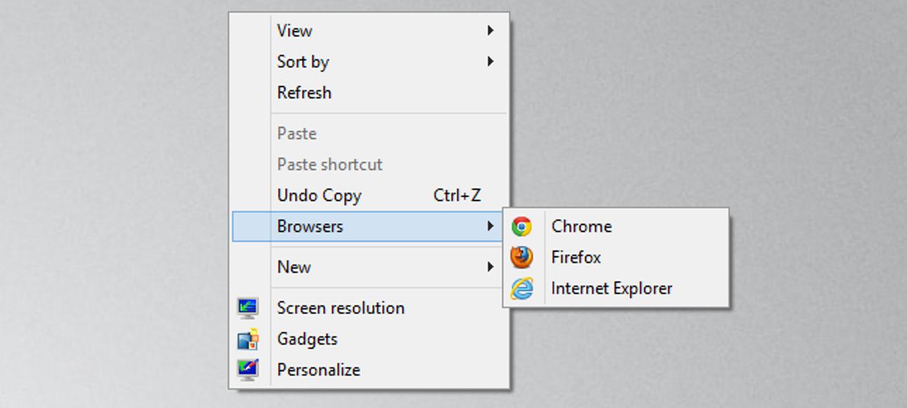 So bearbeiten Sie das Windows-Kontextmenü auf einfache Weise
