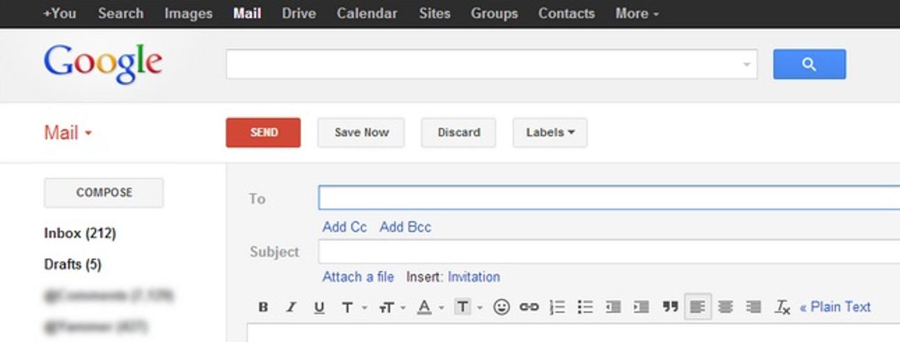 So erhalten Sie das alte Google Mail-Erstellungsfenster zurück