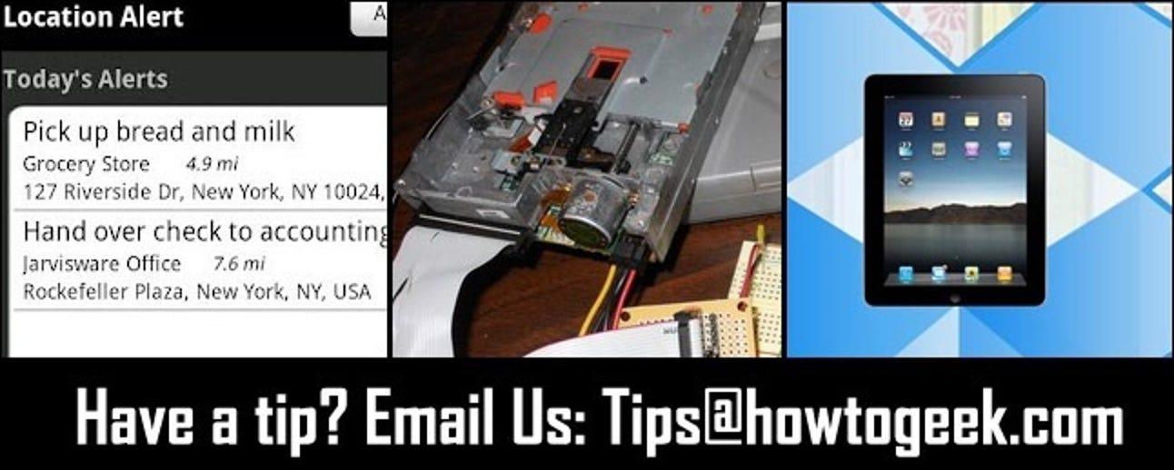 Standortbezogene Aufgabenerinnerungen, DIY-Diskettenlaufwerksmusik und einfacher Zugriff auf Produkthandbücher