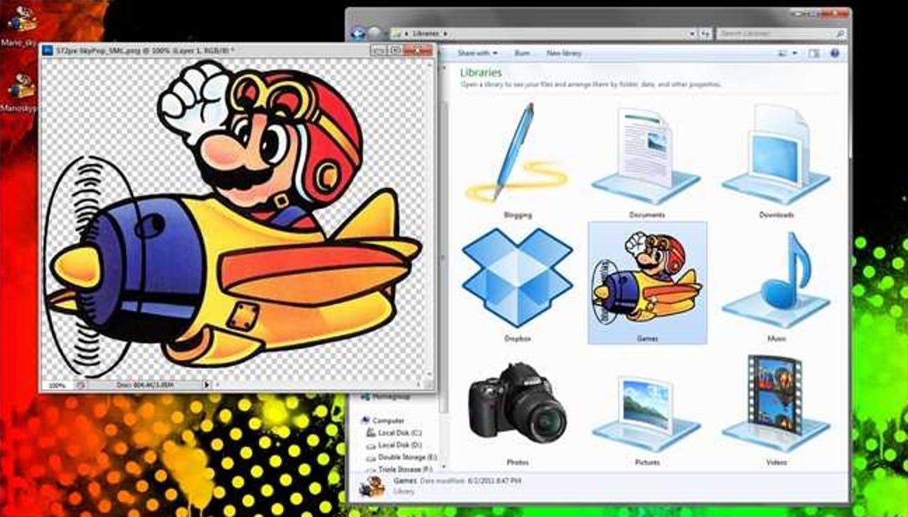 So machen Sie aus jedem Bild hochauflösende Windows 7-Symbole