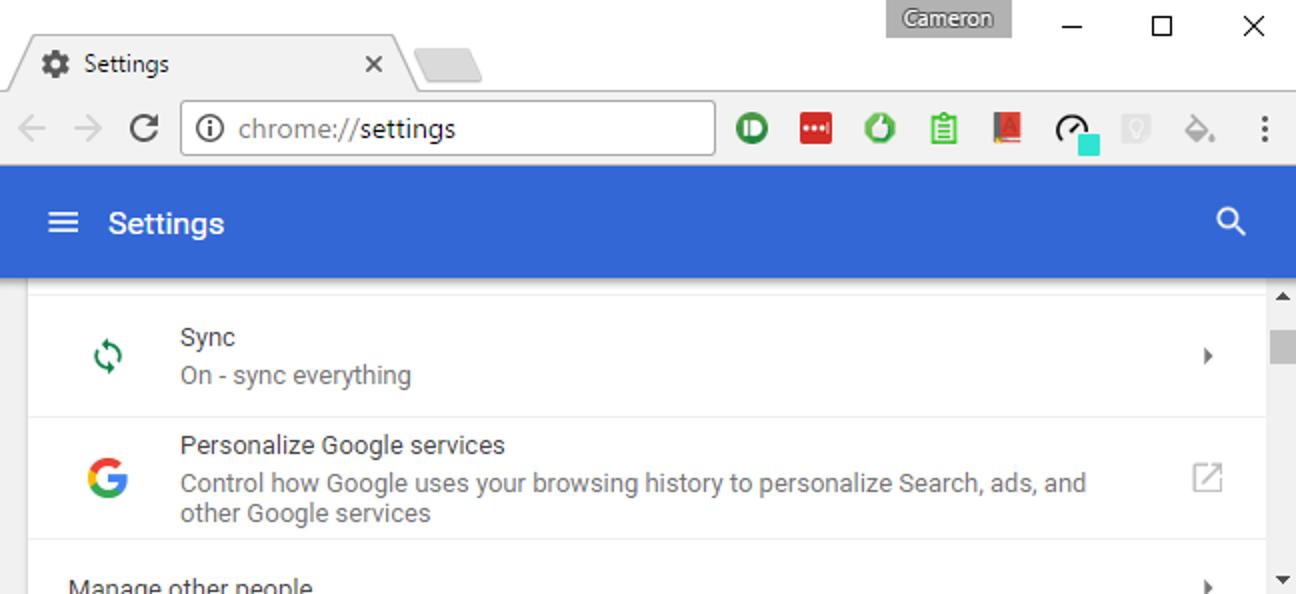 "So aktivieren Sie Googles ""Material Design"" in Chrome"