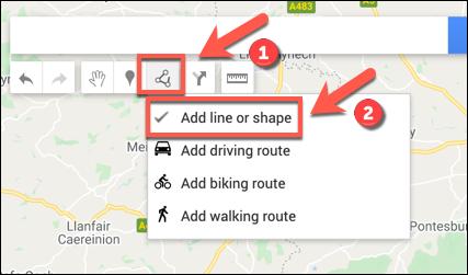 """Klicken Sie auf Linie zeichnen> Linie oder Form hinzufügen, um Ihrer benutzerdefinierten Google Maps-Karte eine Linie oder Form hinzuzufügen"""" width=""""427″ height=""""251″ onload=""""pagespeed.lazyLoadImages.loadIfVisibleAndMaybeBeacon(this);"""" onerror=""""this.onerror=null;pagespeed.lazyLoadImages.loadIfVisibleAndMaybeBeacon(this);""""/></p> <p>Zeichnen Sie in einem geeigneten Bereich auf der Karte eine Linie mit der Maus oder dem Trackpad. Verwenden Sie mehrere Linien, um eine zusammengefügte Form zu erstellen.</p> <p><img class="""
