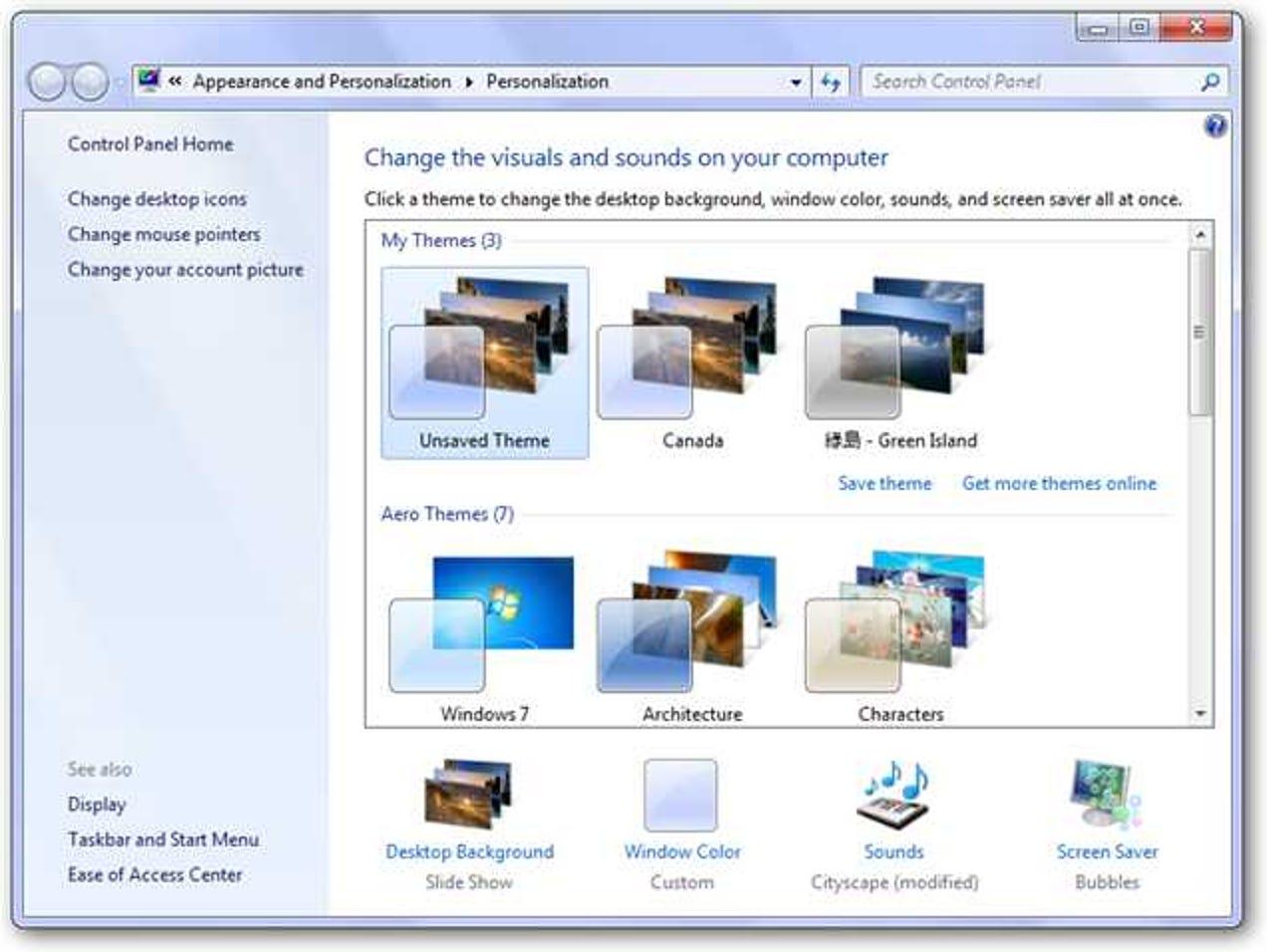 So personalisieren Sie Windows 7 Starter