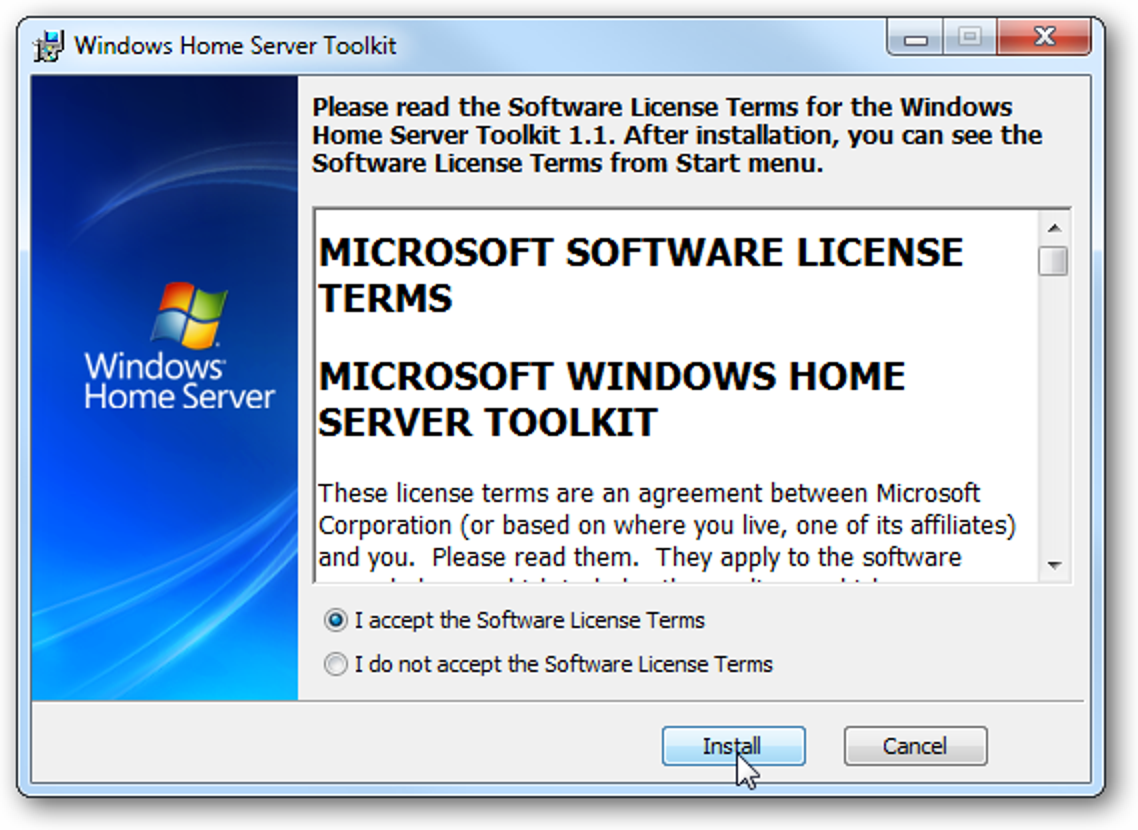Beheben Sie Verbindungsprobleme mit dem Windows Home Server Toolkit