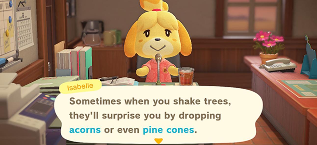 """So finden Sie Eicheln und Tannenzapfen in """"Animal Crossing: New Horizons"""""""