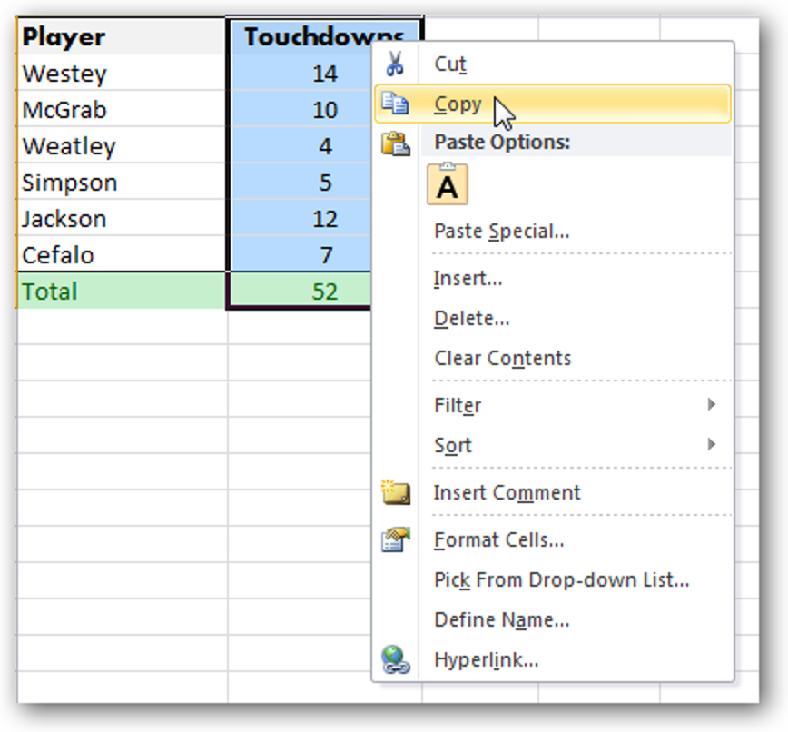 Vorschau vor dem Einfügen mit Live Preview in Office 2010