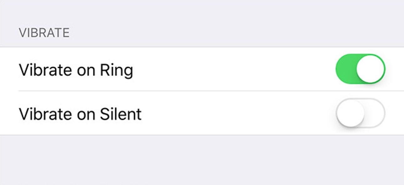 So schalten Sie Vibrationen aus, wenn Ihr iPhone lautlos ist (oder ständig)