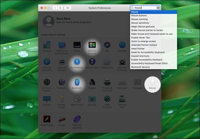 Suchergebnisse für Systemeinstellungen auf dem Mac