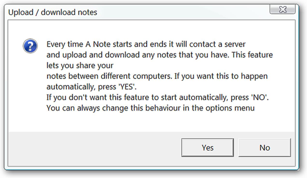 """Fügen Sie Ihrem Desktop Haftnotizen mit """"A Note"""" hinzu."""