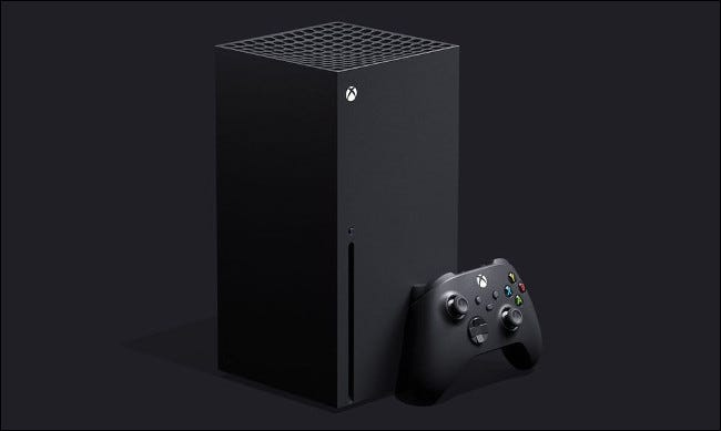 Die Xbox-Serie X.
