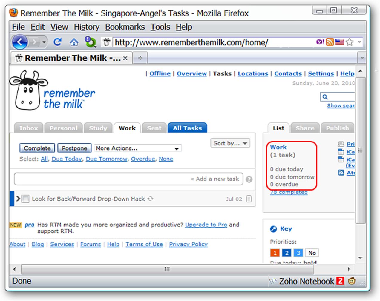 Fügen Sie lustige Grafiken hinzu, um sich an das Milchlogo in Firefox oder Chrome zu erinnern