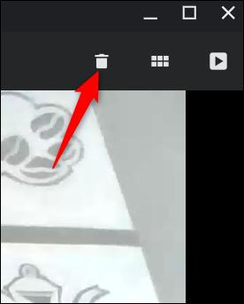Nicht zufrieden mit dem Video?  Klicken Sie auf den Papierkorb, um ihn zu löschen
