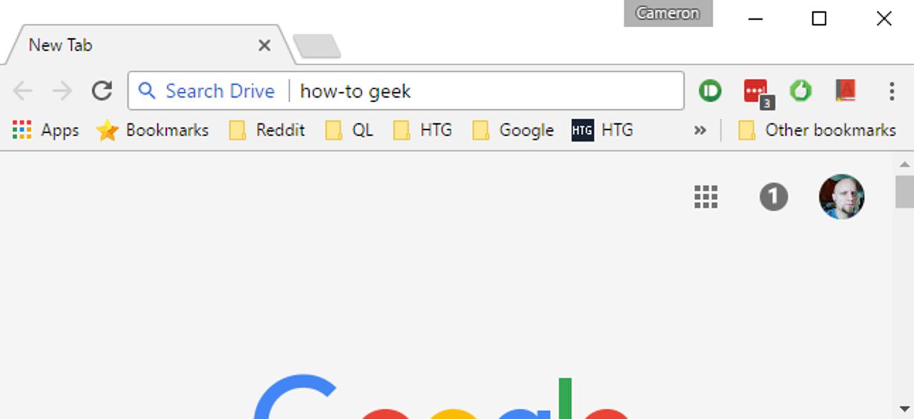 So suchen Sie Google Drive direkt in der Adressleiste von Chrome