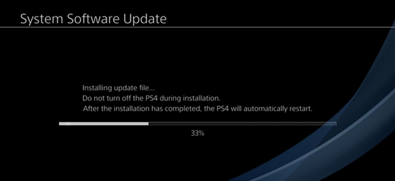 So aktualisieren Sie die PlayStation 4 oder Pro manuell