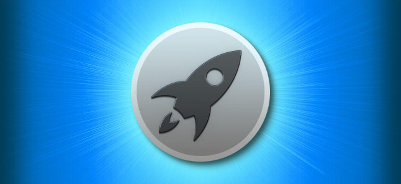 So fügen Sie dem Dock auf einem Mac ein Launchpad hinzu