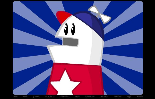 Homestar Runner mit Adobe Flash