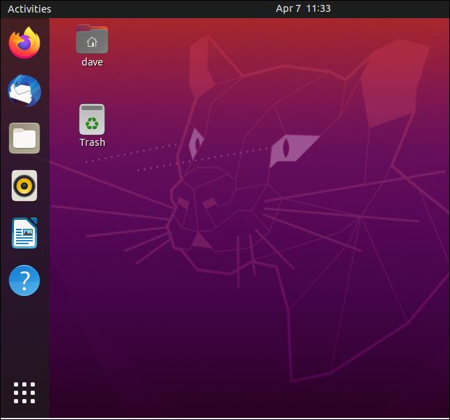 Ubuntu 20.04 Standard Desktop