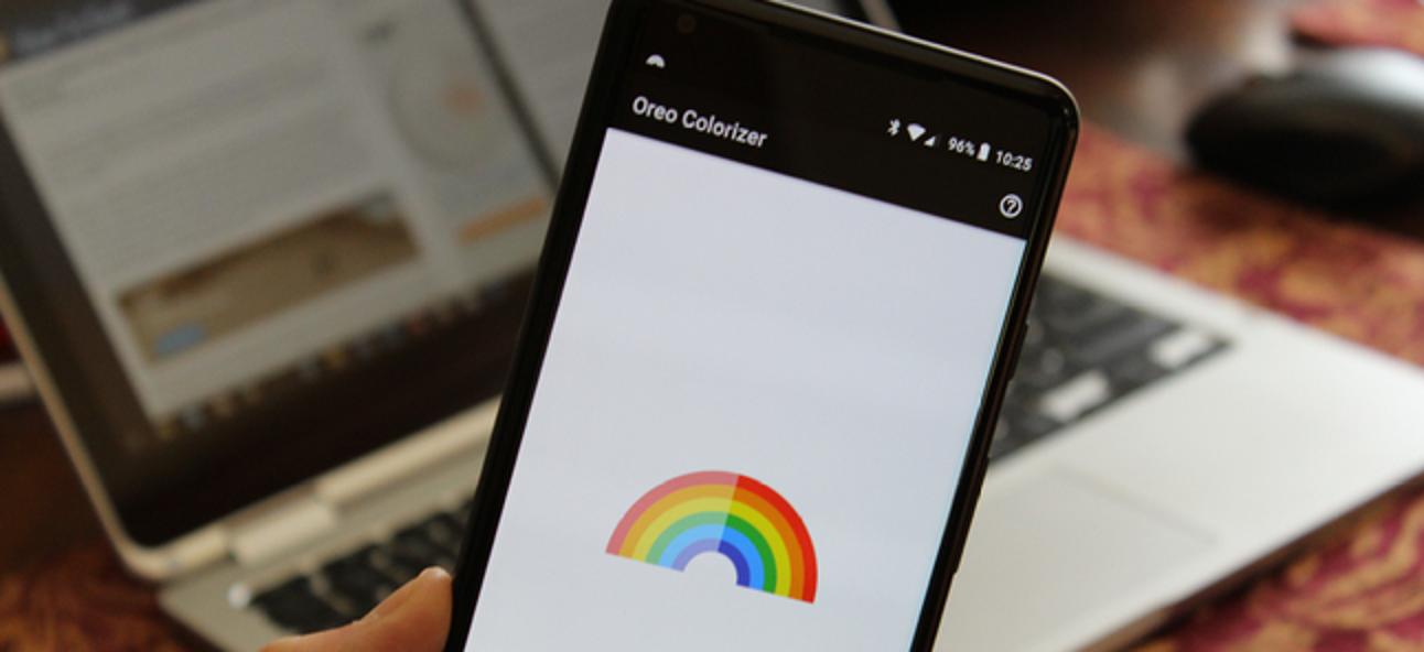 So machen Sie die Farben Ihres Pixel 2 mit Oreo Colorizer lebendiger