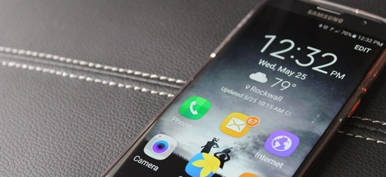 """So vereinfachen Sie das Galaxy S7 für Ihre technisch nicht versierten Verwandten mit dem """"Easy Mode"""""""