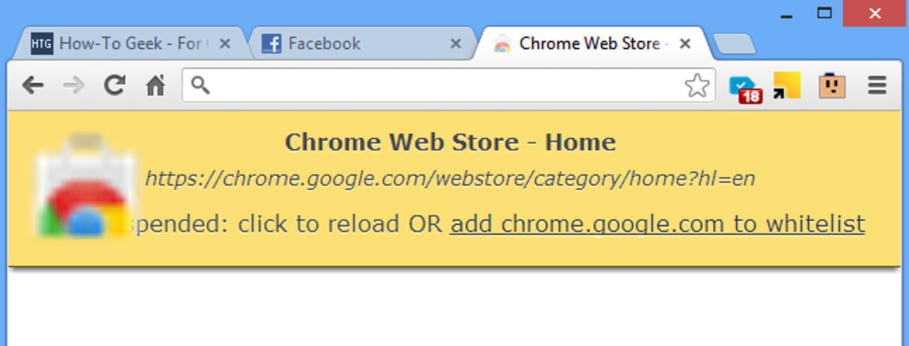 Verwalten Sie die Speichernutzung von Chrome effizienter mit dem Great Suspender