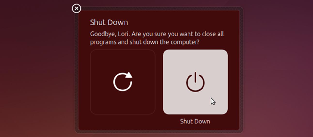 So deaktivieren Sie das Dialogfeld zur Bestätigung des Herunterfahrens / Neustarts in Ubuntu 14.04