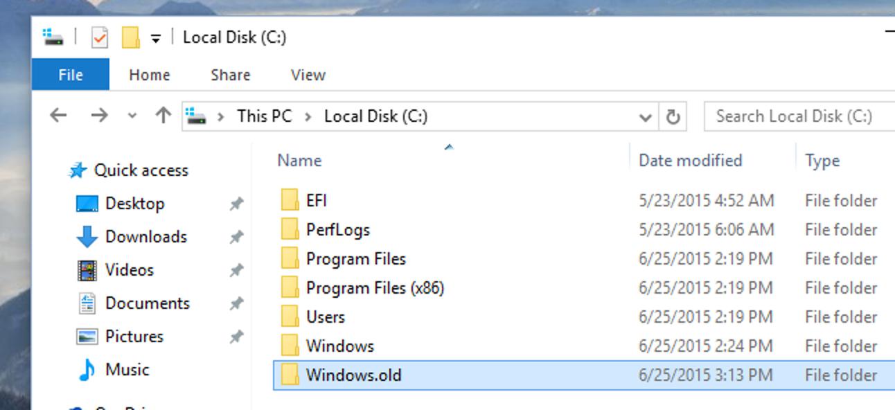 Was ist der Windows.old-Ordner und wie löschen Sie ihn?