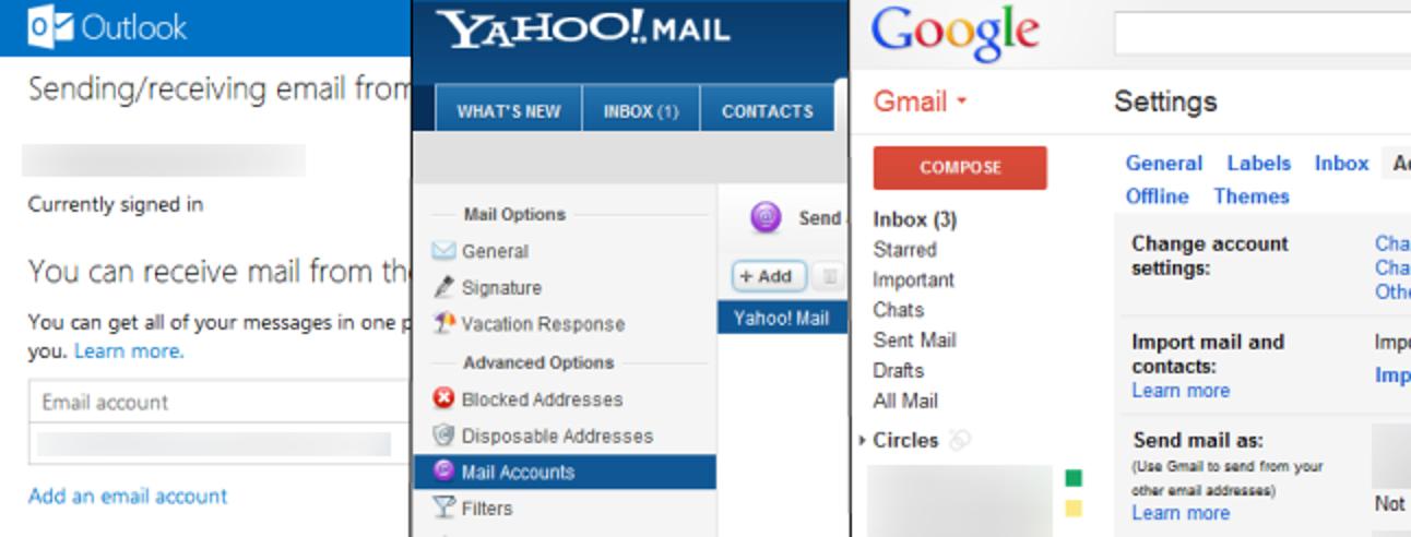So wechseln Sie den Webmail-Anbieter, ohne Ihre gesamte E-Mail zu verlieren