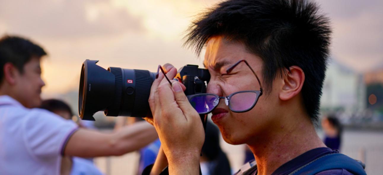So verwenden Sie eine Kamera, wenn Sie eine Brille benötigen