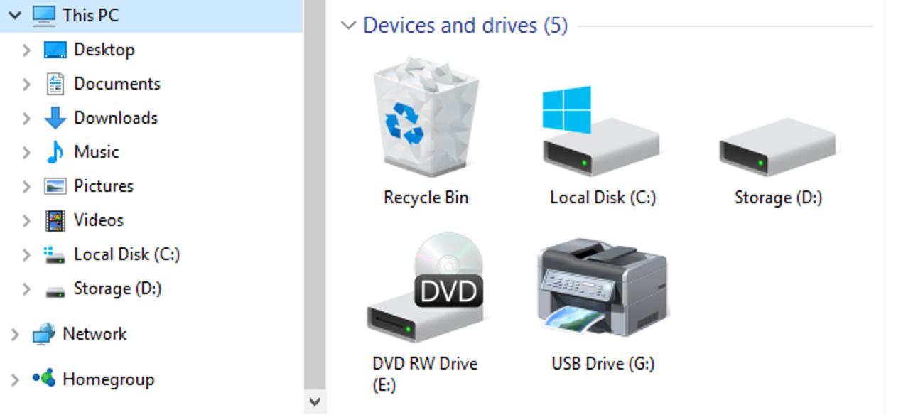 So fügen Sie dem Windows-Datei-Explorer einen Papierkorb hinzu
