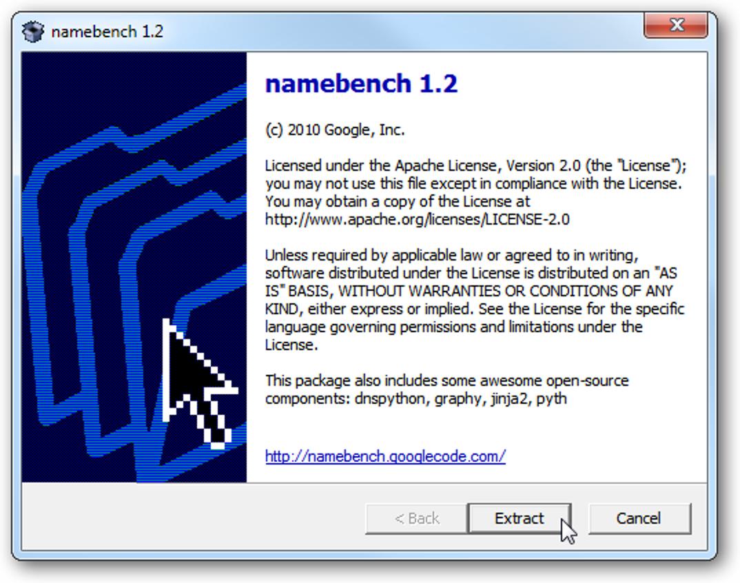 Suchen Sie mit Namebench einen schnelleren DNS-Server