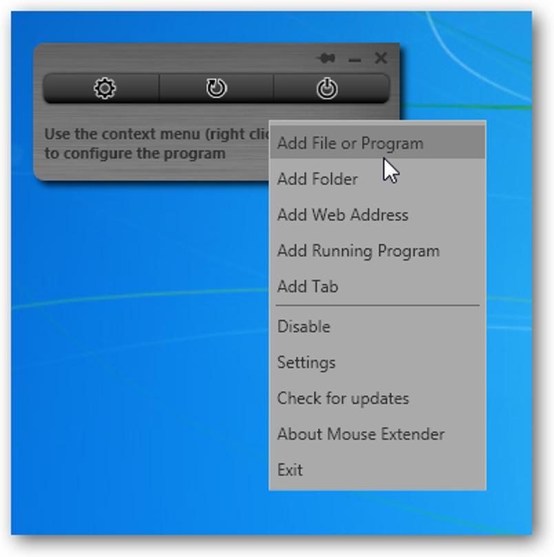 Mouse Extender vereinfacht die Windows-Navigation