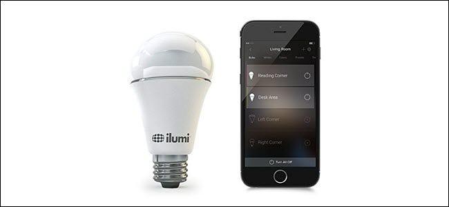 ilumi blutooth Glühbirne mit Telefon