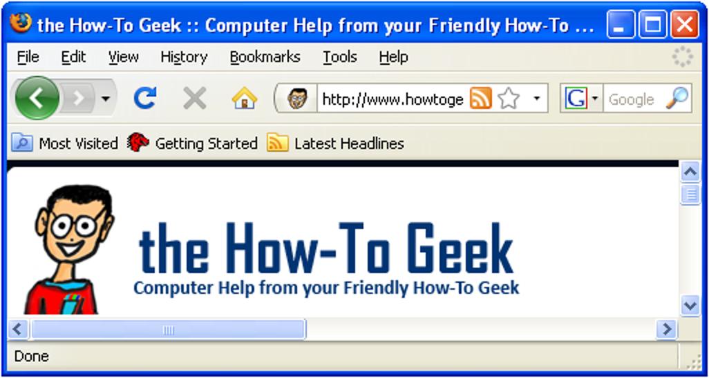 Erzwingen Sie, dass Firefox 3 das Vista-Standarddesign in Windows XP verwendet