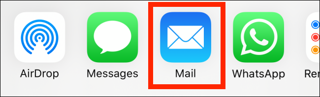 """Zapfhahn """"Mail."""""""