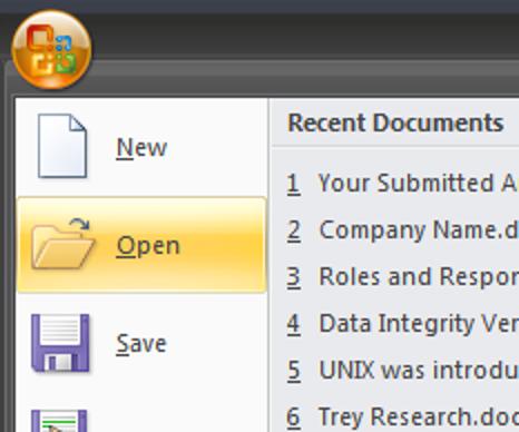 Vorschau von Dokumenten, ohne sie in Word 2007 zu öffnen