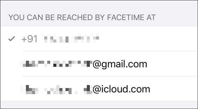 Überprüfen Sie, wie Sie über FaceTime erreichbar sind