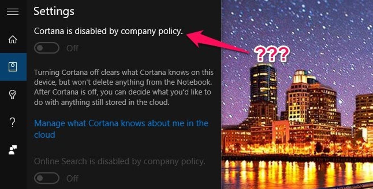 """So beheben Sie die Meldung """"Durch Unternehmensrichtlinien deaktiviert"""" oder """"Von Ihrer Organisation verwaltet"""" in Windows 10"""