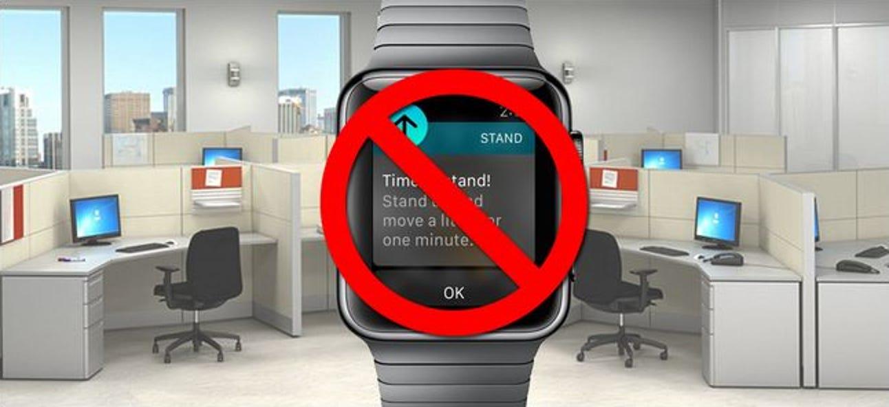 So deaktivieren Sie Standerinnerungen auf der Apple Watch