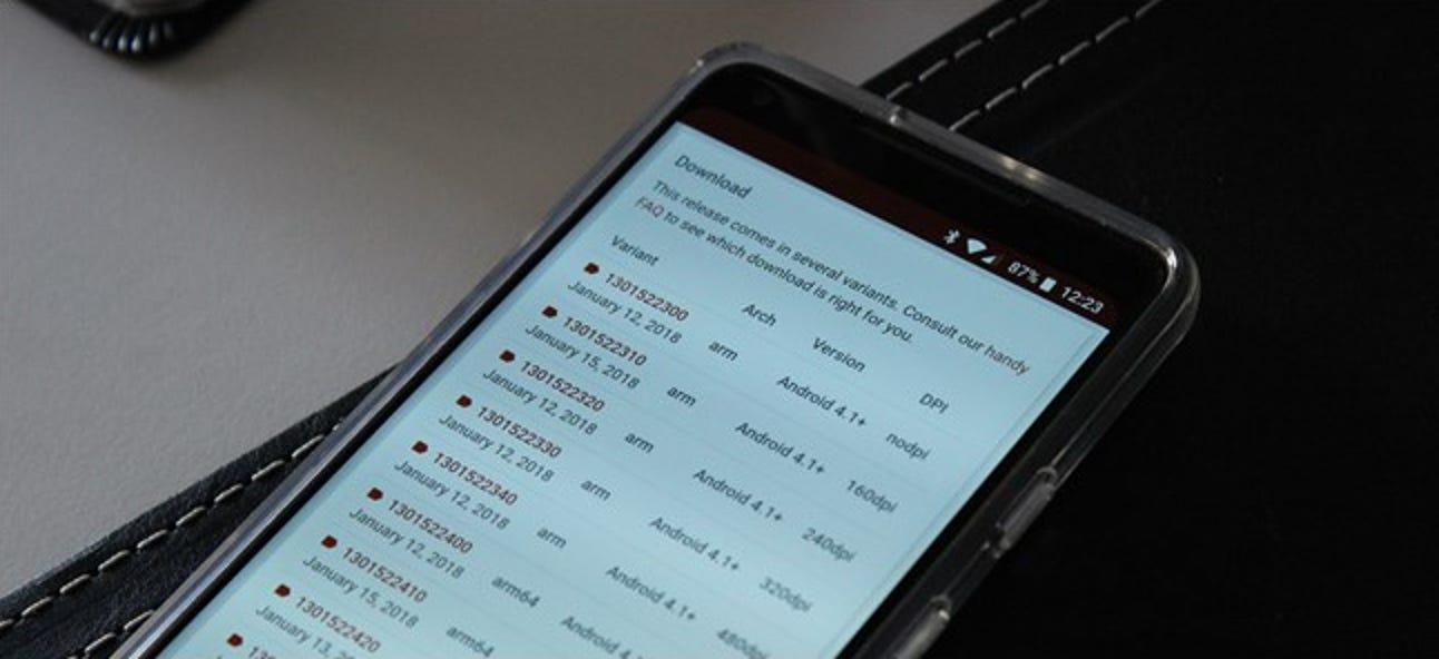 So finden Sie die Informationen Ihres Android-Geräts für korrekte APK-Downloads