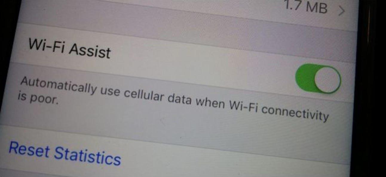 Was ist Wi-Fi Assist und wie schalten Sie es aus?