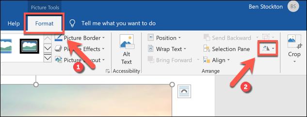 """Drücken Sie Format> Objekte drehen, um mit dem Spiegeln eines Bilds in Microsoft Word zu beginnen."""" width=""""633″ height=""""242″ onload=""""pagespeed.lazyLoadImages.loadIfVisibleAndMaybeBeacon(this);"""" onerror=""""this.onerror=null;pagespeed.lazyLoadImages.loadIfVisibleAndMaybeBeacon(this);""""/></p> <p>Unter dem Symbol wird ein Dropdown-Menü mit verschiedenen Optionen zum Drehen und Spiegeln Ihres Bildes angezeigt.</p> <p>Klicken Sie auf die Option """"Vertikal spiegeln"""", um das Bild so zu drehen, dass es verkehrt herum angezeigt wird.  Wenn Sie das Bild horizontal spiegeln möchten, wählen Sie stattdessen die Option """"Horizontal spiegeln"""".</p> <p><img class="""
