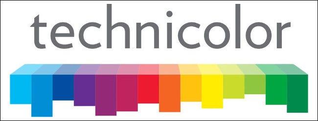 Das Technicolor-Logo.