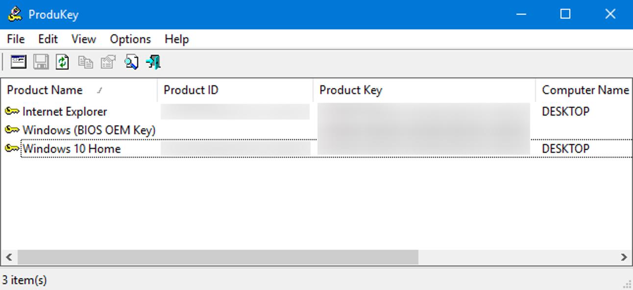 So stellen Sie Software-Produktschlüssel von jedem Computer wieder her, auch von einem defekten